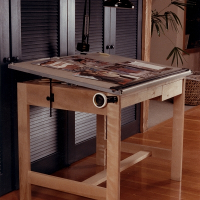 These table were built for the design department of Esprit clothing in the 80's.