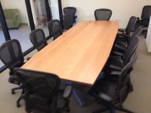 cherry conference room table