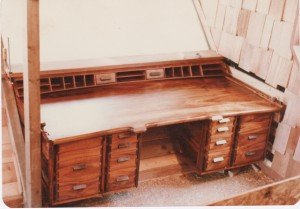 Koa_wood_built_in_desk
