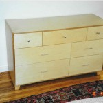 birch plywood dresser