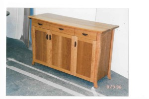custom cherry sideboard