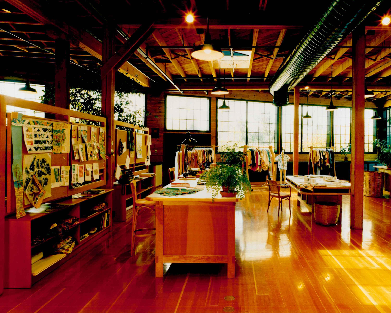Design Room At Esprit De Corps Clothing Company