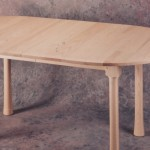 ash oval table