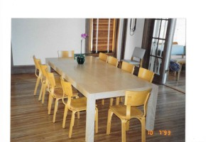 Maple parsons table