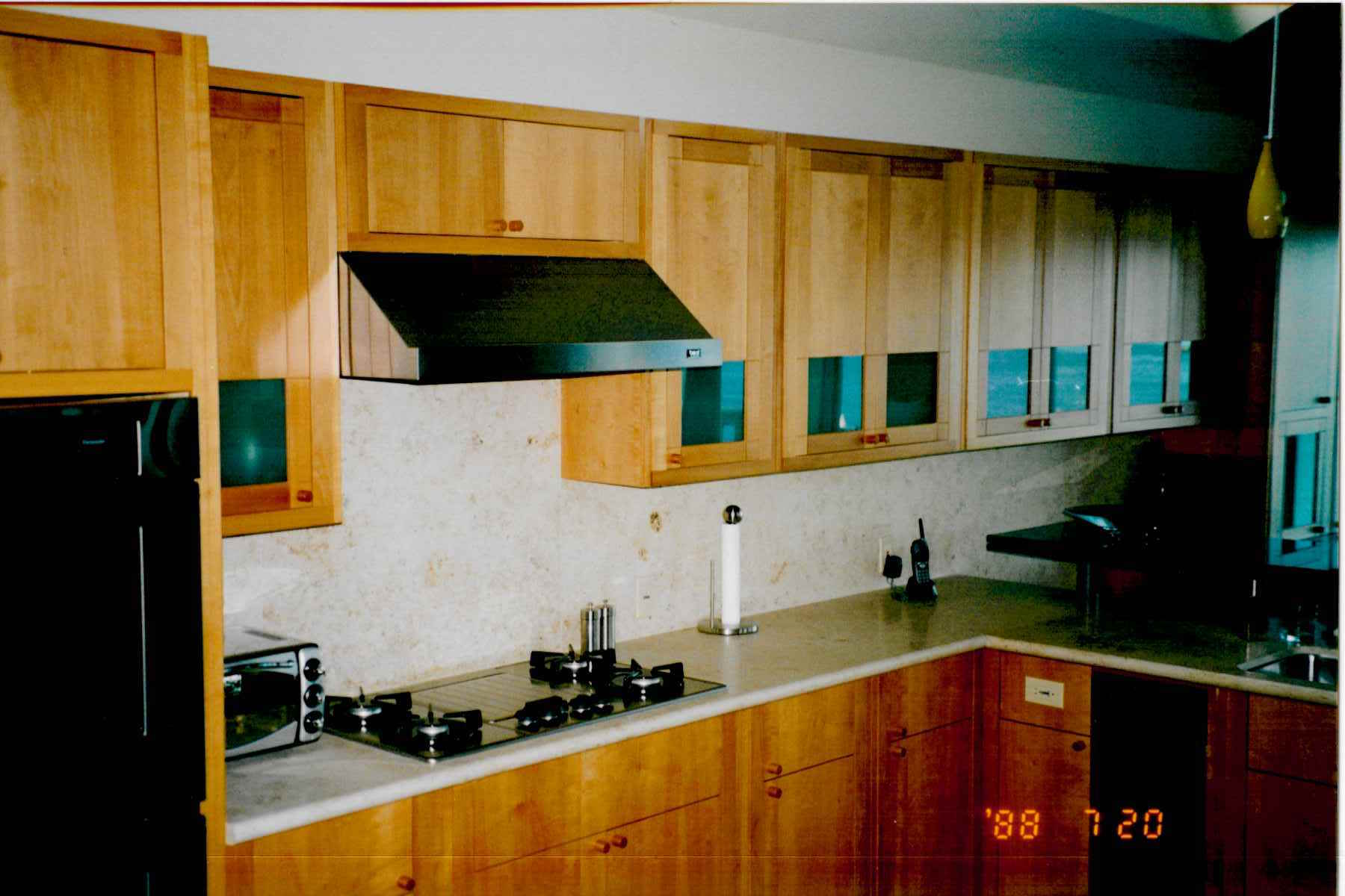 Merveilleux Pear Wood Kitchen Cabinets