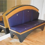 purple sofa maple