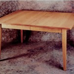 cherry dining table Shaker style
