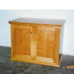 shaker style low cabinet